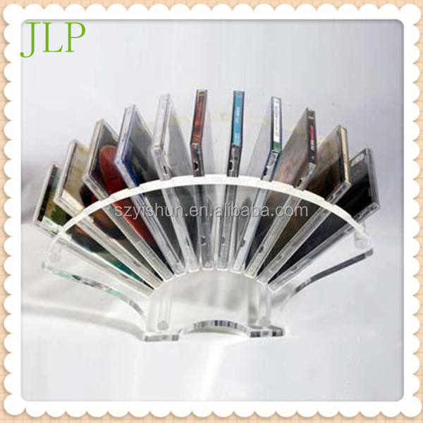 Manufacturing Acrylic CD display shelf