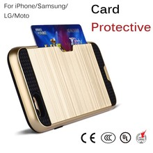 Unique Design Credit Card Holder Mobile Phone PU Leather Case for iPhone 6 6S 6 Plus 6S Plus