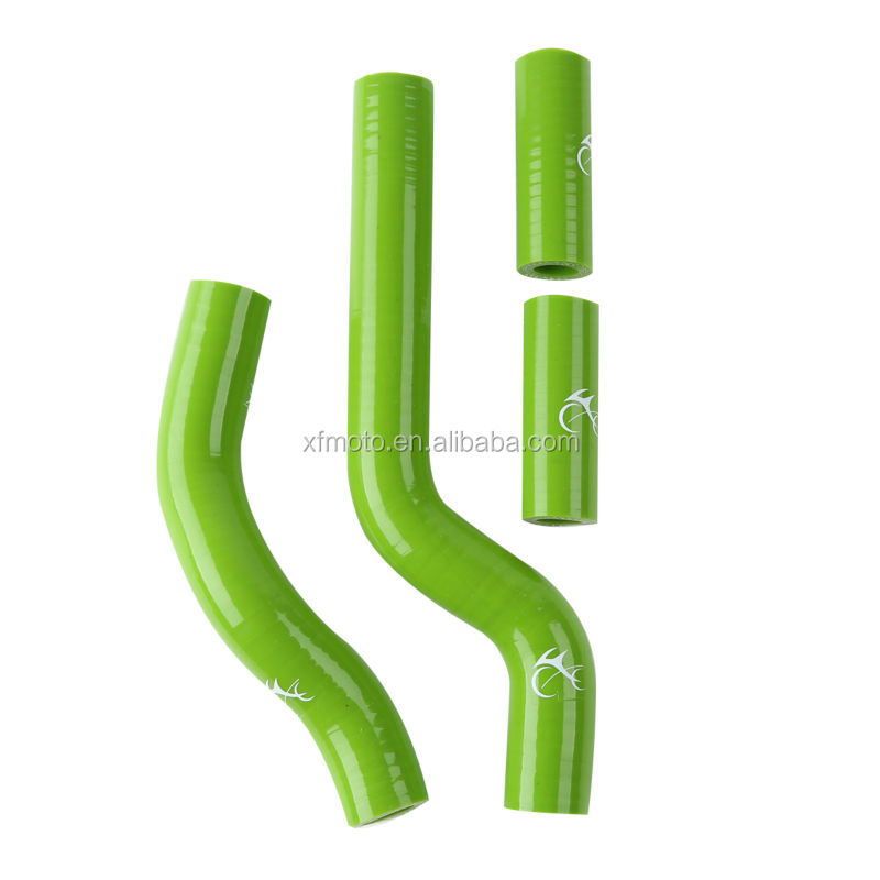 Green Motorcycle Silicone Radiator Hose For Yamaha YZ250 YZ 250 2002-2008 03 04 05 06 07