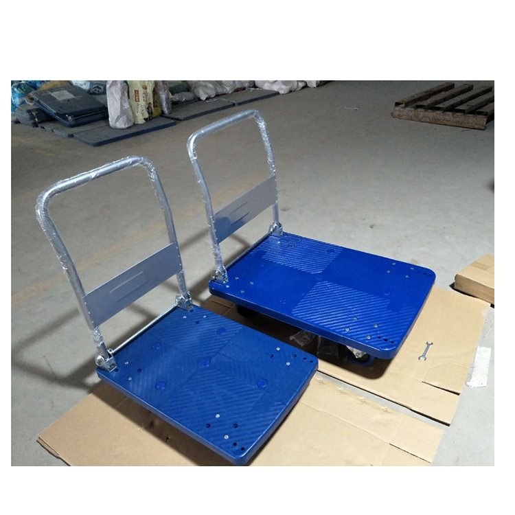 Warehouse tool folding trolley manual pallet truck