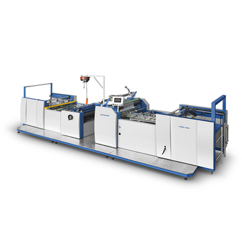YFMZ1200A High Speed Fully Automatic Magnetic Heating Thermal Film Sheet Paper Laminaitng Machine With CE CERTIFICATION