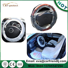 disposable car steering wheel cover/plastic car seat cover protector