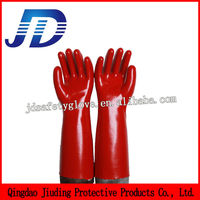 PVC coated safety gloves / Labour protection gloves