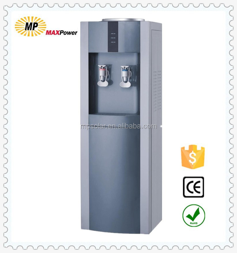Electronic and Compressor cooling floor standing hot and cold water dispenser China manufancturing