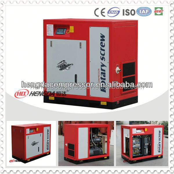 8bar 7.5kw price of screw compressor 7bar mobile industrial air compressor