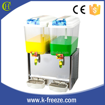 CE certificate juice dispenser factory