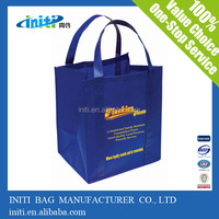 2015 new style extra large hand pp laminated non woven bag for shopping