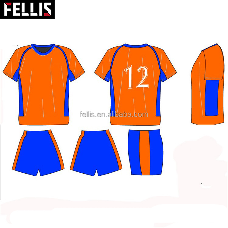 Custom Design Thai Quality Soccer Jersey ,Red Color Football Jersey Wear