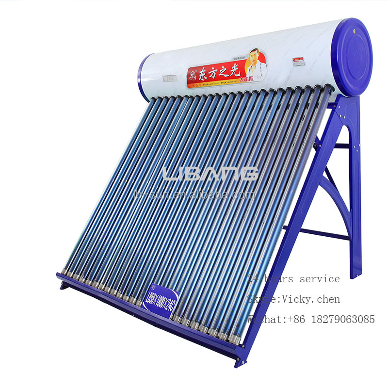 Hot sale steel non-pressure production line solar water heater