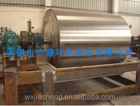stainless steel vacuum rotary drum flaker dryer