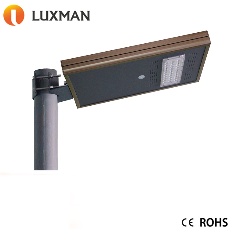 20W Solar Power Supply Integrated LED Street Light for Bidding Retrofit Lighting Project