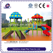Outdoor play areas for toddlers
