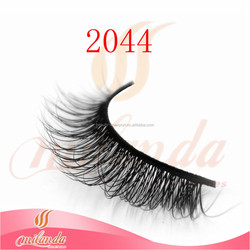 Private label 100% mink strip eyelashes real mink fur eyelash extensions