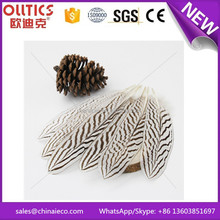 Top quality 35-40cm silver pheasant feathers for cheap