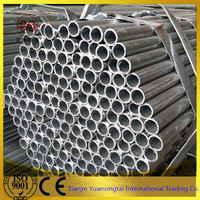 Building material pre galvanized round steel pipe made in China mainland