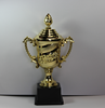 Wholesale cheap small plastic trophy cup/Sport plastic trophy awards cups