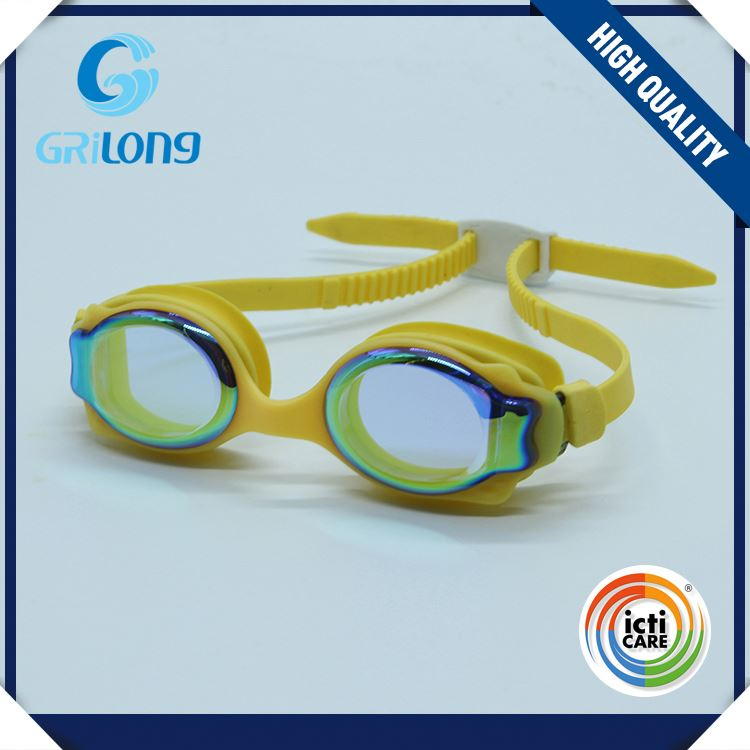 TOP sale OEM quality exclusive children funny swim goggles