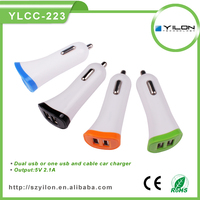 hot selling wholesale dual usb electric car charge