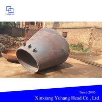 nonstandard conical shell head for nuclear power equipments