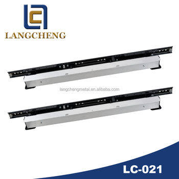LC-021 Integrated automatic lifting dinnin table Guide Rail(extension table mechanism)