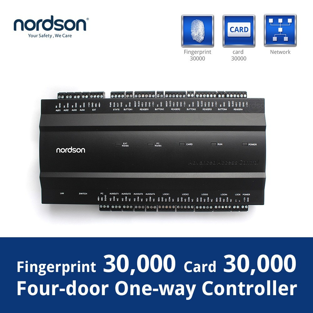 Nordson web access control inbio460 free biometric access control software