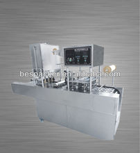 automatic yoghurt plastic cups machine sealer and filler