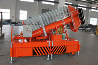 China telescopic cylindrical hydraulic air lifting platform for sale
