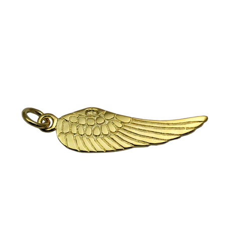 Beadsnice ID 28437 <strong>Silver</strong> for charm bracelet angel wings 26X7.5mm sold by PC wholesale charms