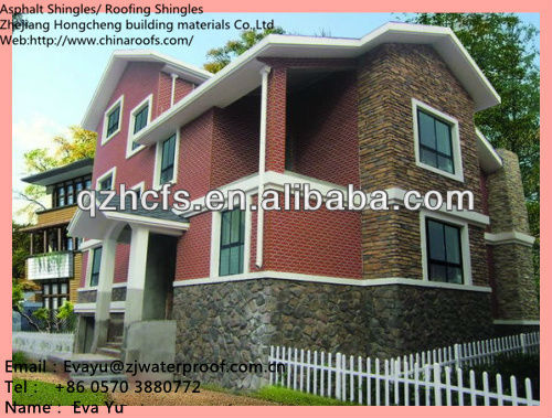 fiberglass aspahlt shingle price/ roof tile