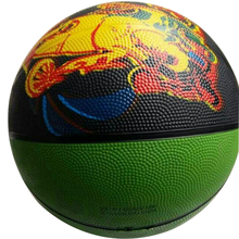 Cheap Promotional Custom OEM Rubber Basketball Ball