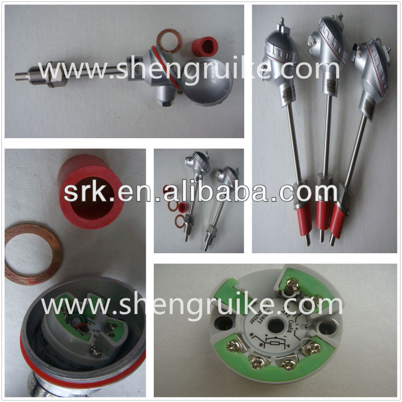 Temperature transmitter pt100 to 4-20ma
