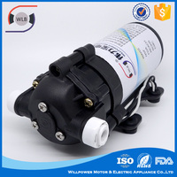 Profession pump supplier 70psi ro water purifier diaphragm booster pump with cheap price