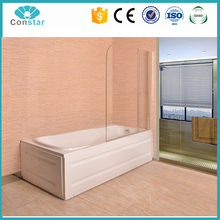 CONSTAR New Design 5mm tempered clear glass shower screen