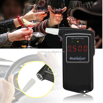 2017 Manufacturing CE&Rohs Approved Breath Alcohol Tester with LCD Display/Breathalyzer,Personal Alcohol Tester AT858S