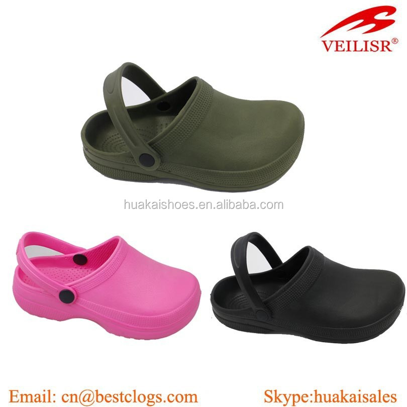 Non Holes Hospital Eva Clogs, Bright Color Good Shape High Quality Hospital Eva Clogs, Kitchen Eva Clogs