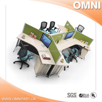 drawer type steel office table , new products newest office desk office table