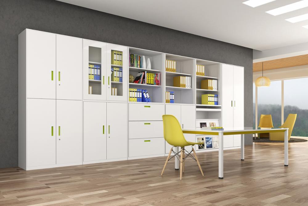 Superieur Full Height Office Swing 2 Door Steel Cupboard, Used Steel Storage Metal  File Cabinets For Sale