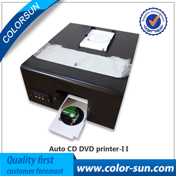 2015 High Quality New Automatic CD Label Printer, Digital CD Cover Printing Machine