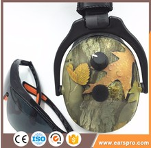 Electronic CE/ANSI earmuff for shooters