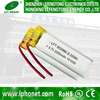 lithium ion polymer battery 802990 3.7v 2250mah li polymer battery for POS machine, fingerprint machines