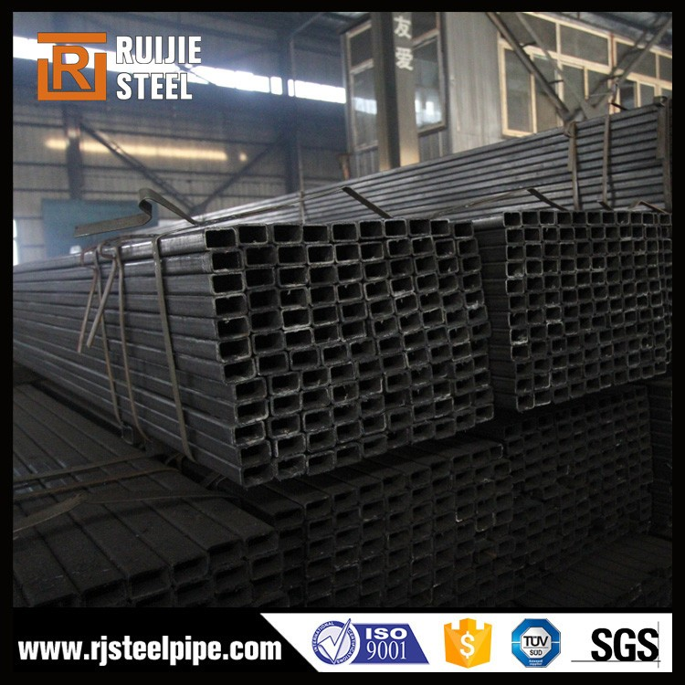 erw black square steel pipe,unit weight of ms square steel tubes by actual data,ss400 structural steel rhs and shs profile