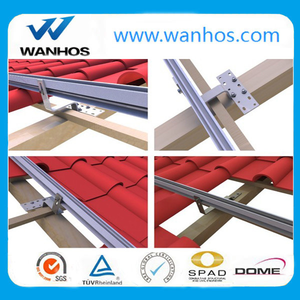 Solar Panel Roof Mounting Hardware, Stainless steel solar panel roof hook system