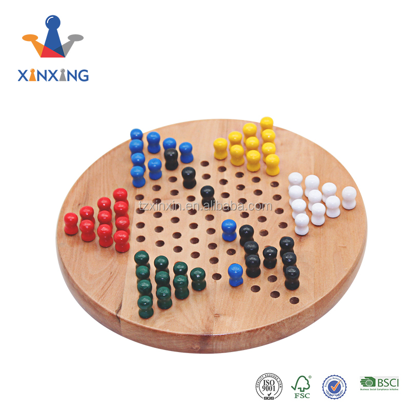 Wooden Chinese Checker Games for board game