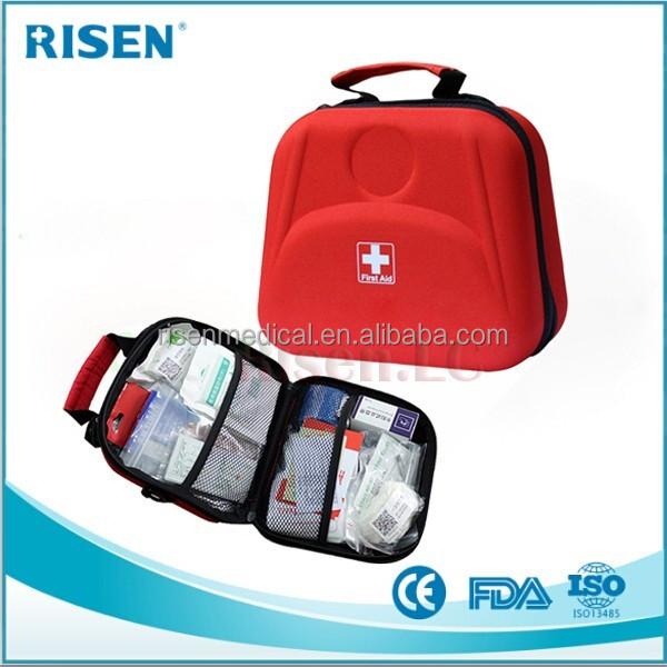 Compact Small First Aid Kit 100 Piece: Car, Home, Survival