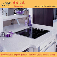 Coshine stone hotter products sparkle white quartz countertop wholesale