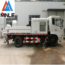 mini concrete pump truck for hot sale HBCS90
