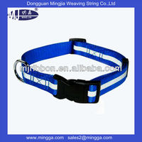 comfortable pet collar with plastic buckle