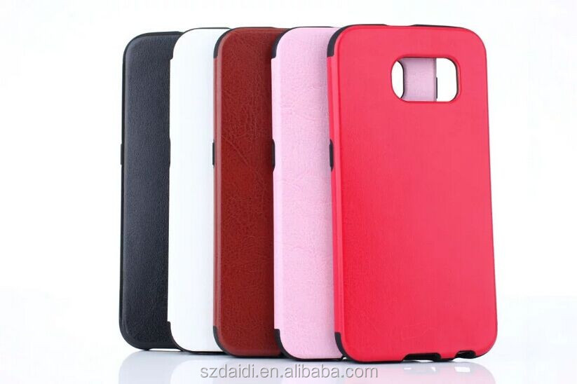 2016 New Colorful TPU Case for Samsung Galaxy S7 TPU Crazy Horse Phone Case