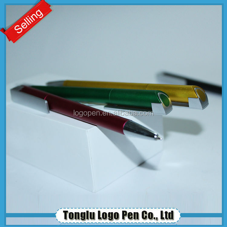 Stationery products plastic pen,cheap 1gb usb pen drive