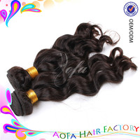 Fashionable 10 inch Indian remy hair extension